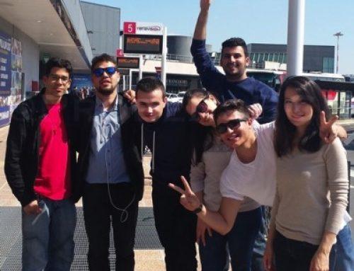 Comienza la estancia en Brescia del primer grupo TLN Mobilicat
