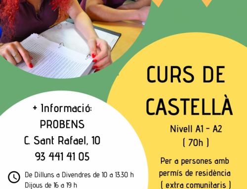 Inscripciones abiertas para el nuevo curso de castellano